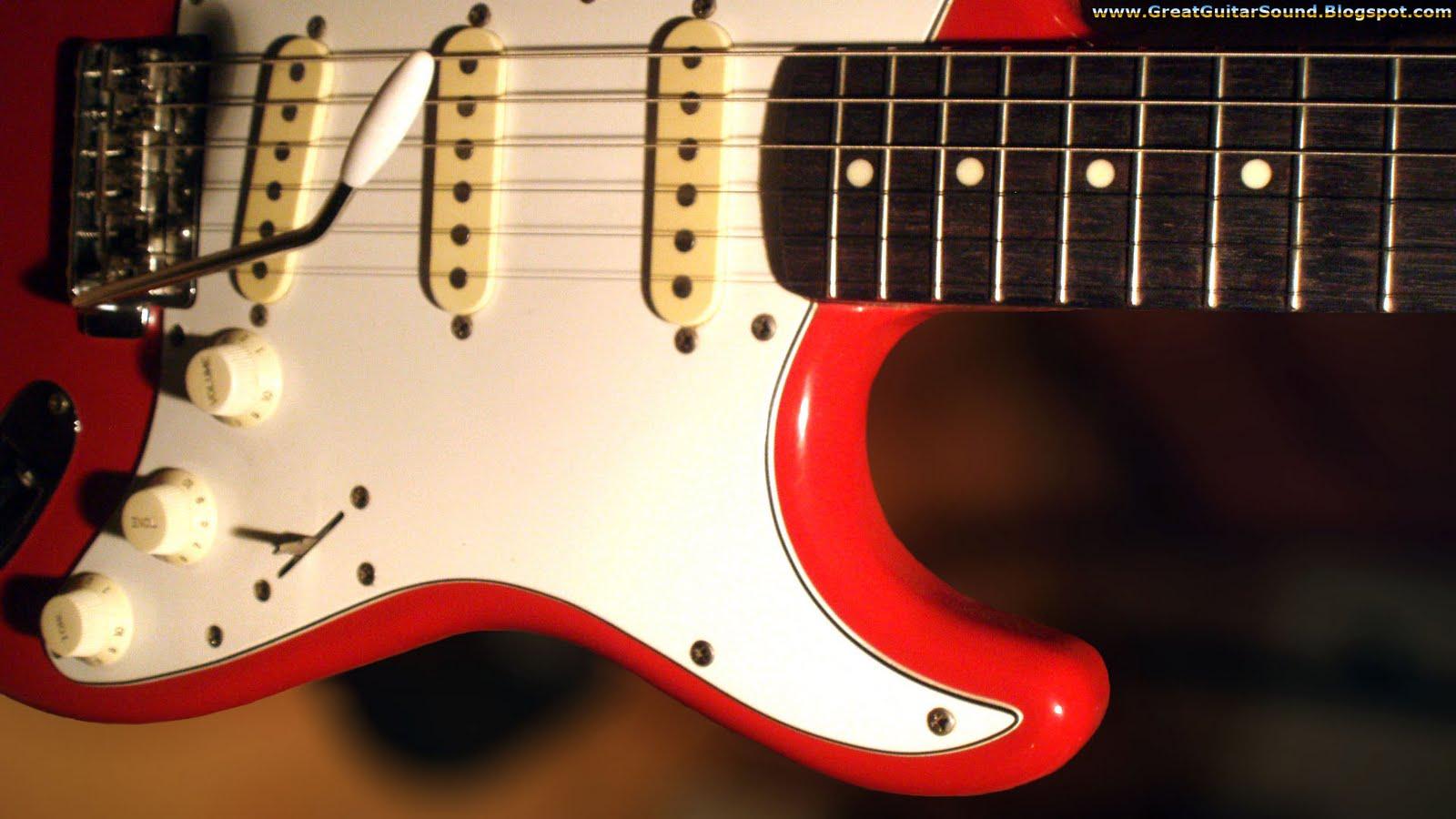 Guitar Wallpaper 3D Effect Fender Stratocaster Electric guitar 1600x900