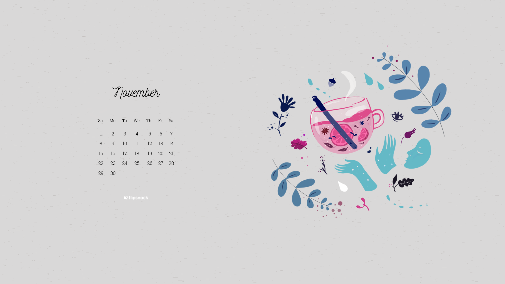 2020 wallpaper calendars January   December   Flipsnack Blog 1920x1080