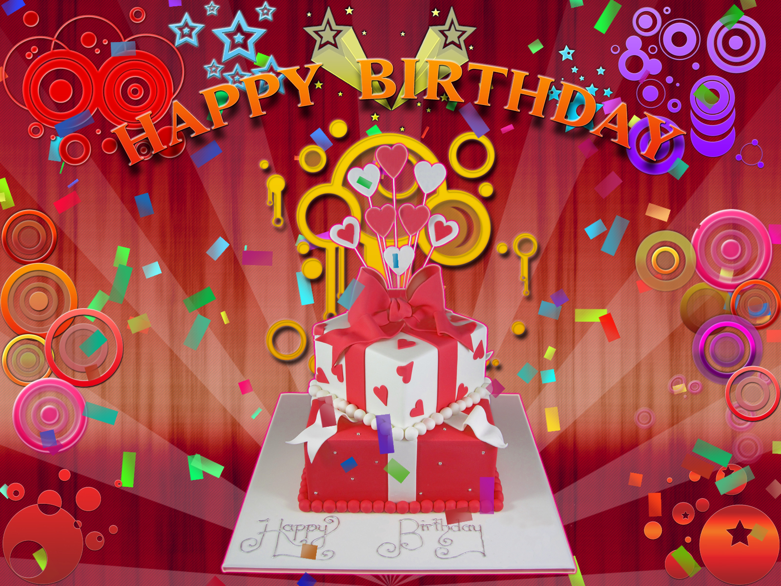 Free Birthday Screensavers and Wallpaper WallpaperSafari