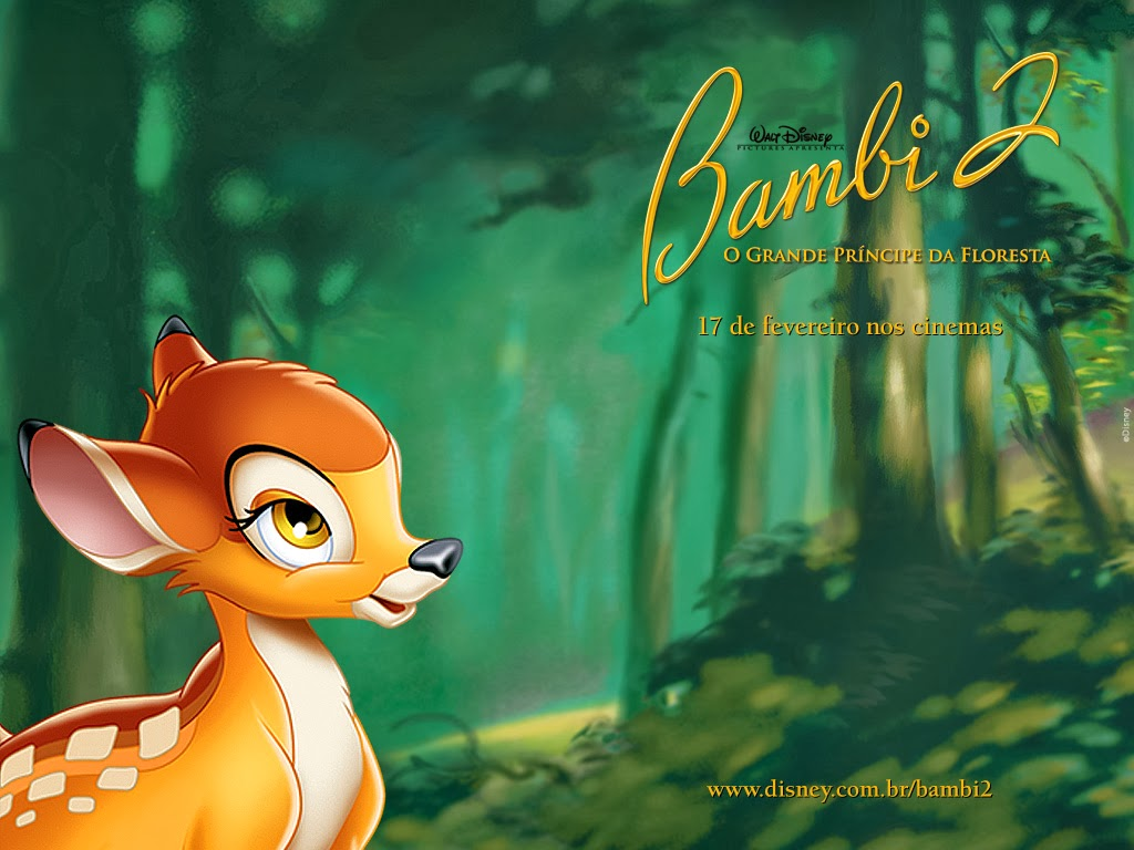 Bambi wallpaper on computer   beautiful desktop wallpapers 2014 1024x768