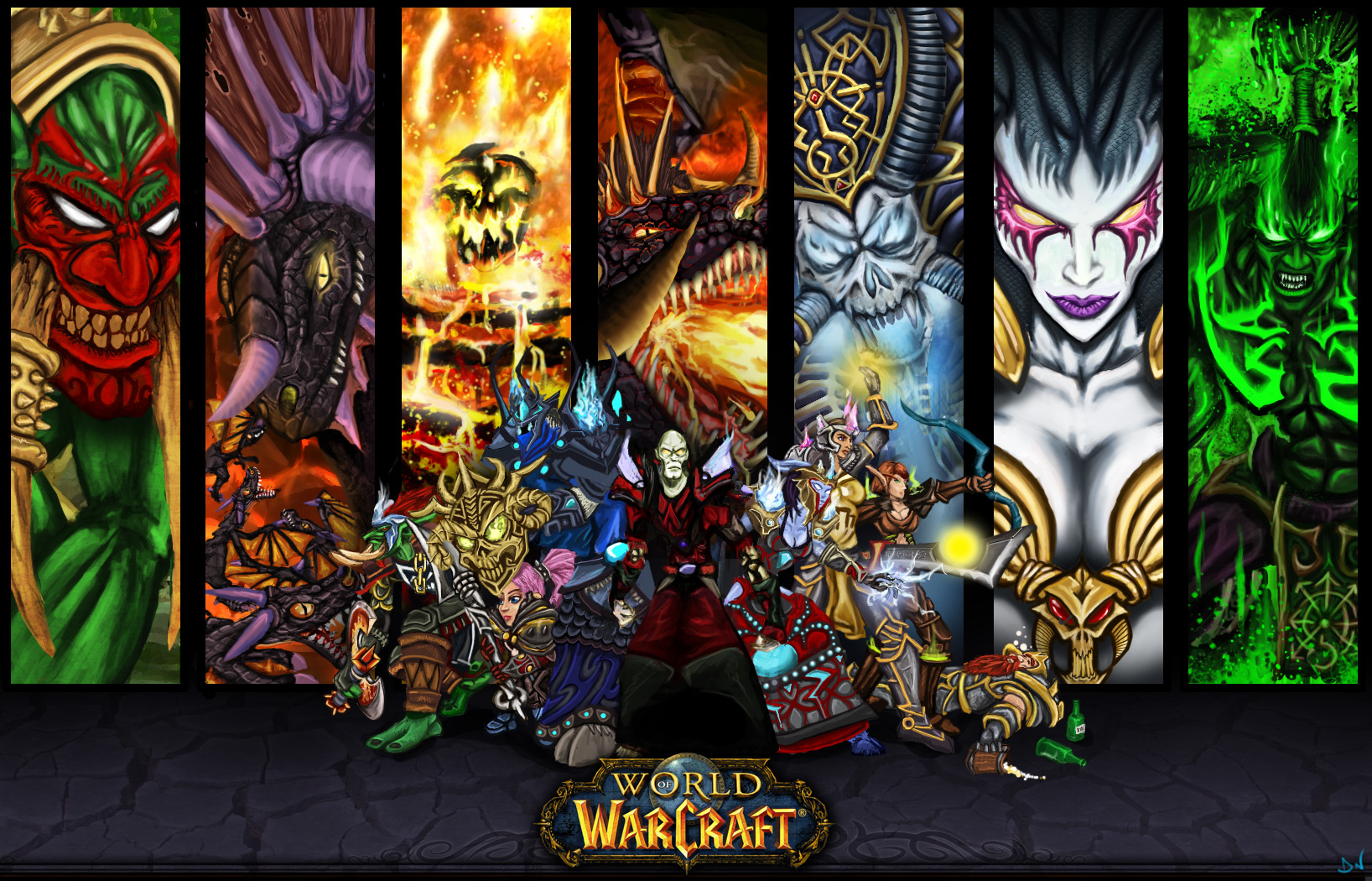 Download World Of Warcraft HD Wallpaper 2151 Full Size 1636x1050