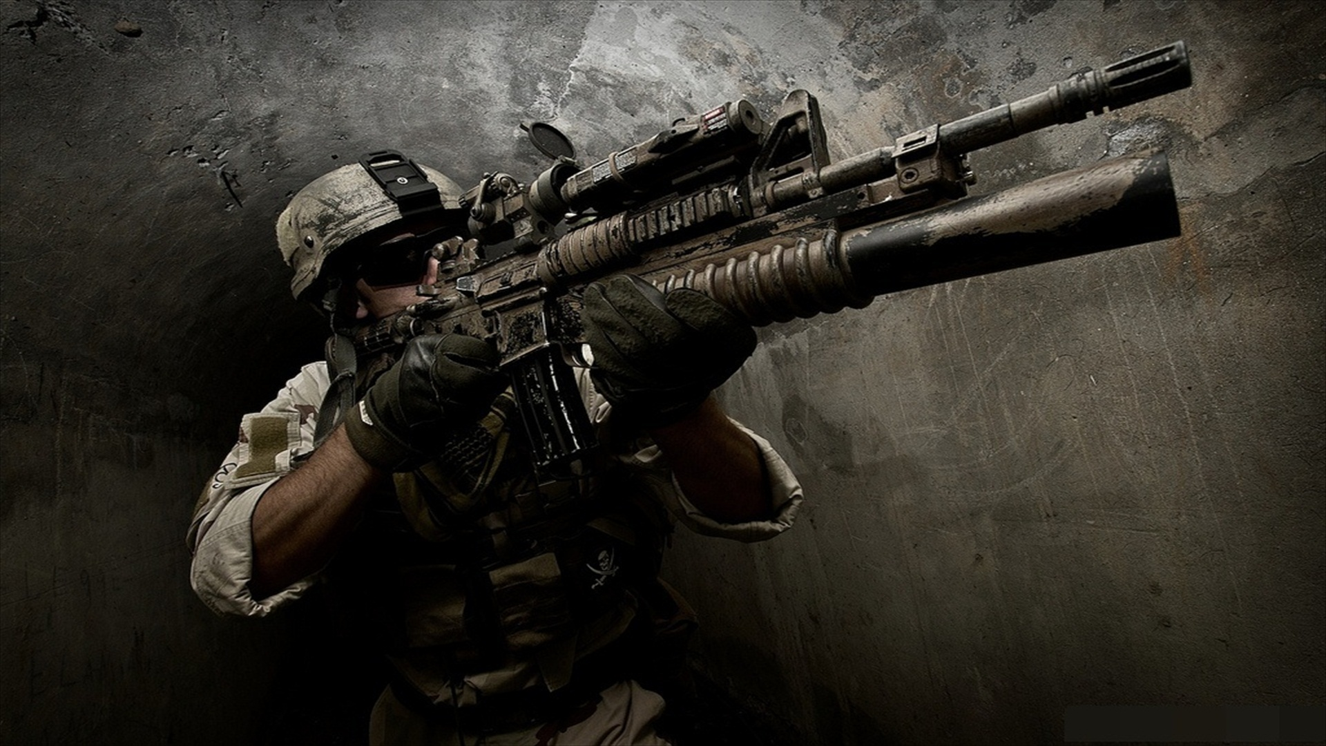 Assault Rifle Full HD Wallpaper and Background 1920x1080 1920x1080