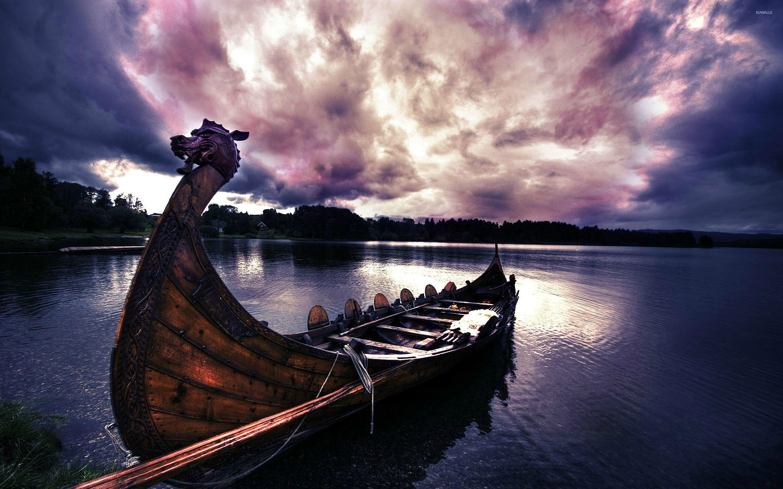 Viking boat wallpaper   1097054 2880x1800