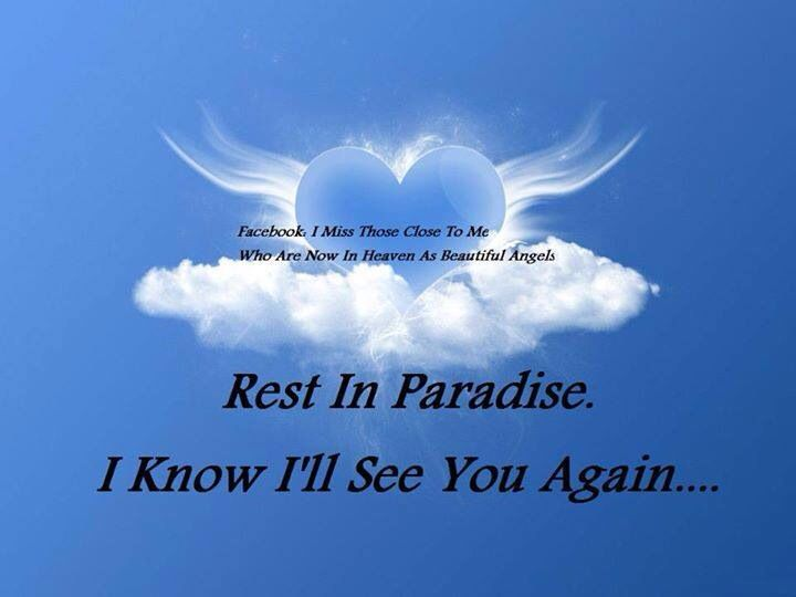 Free Download Rest In Paradise Velda I Love You And Will