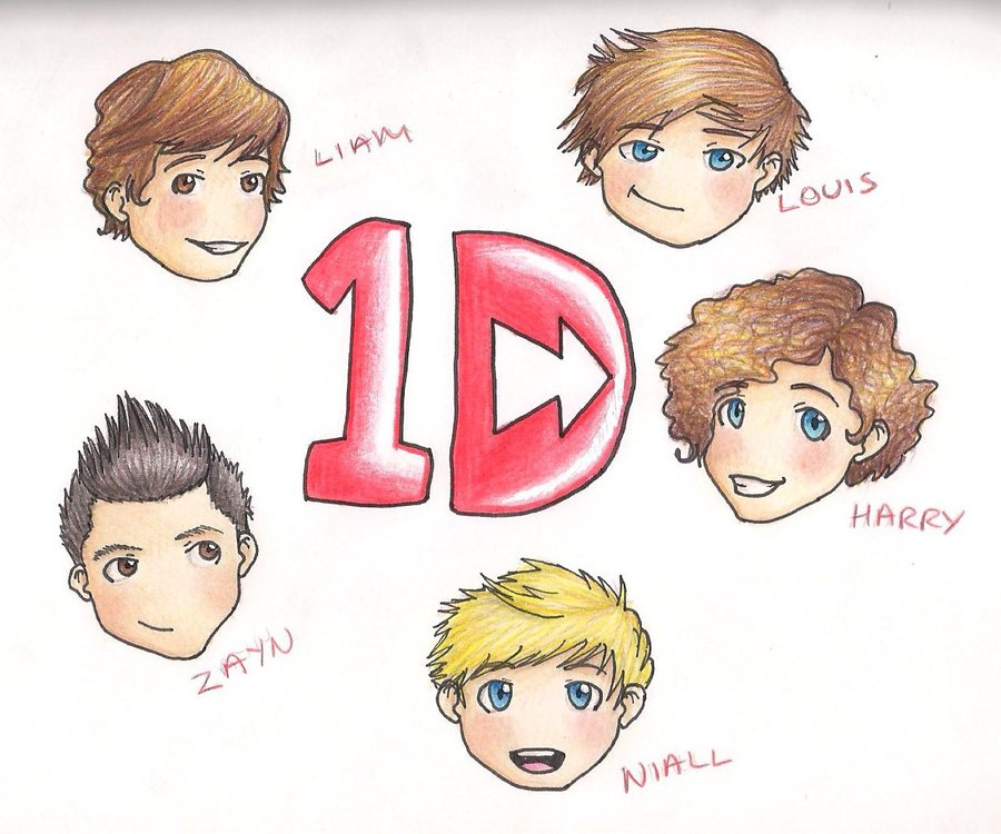 One Direction images one direction cartoon wallpaper photos 31590844 900x750