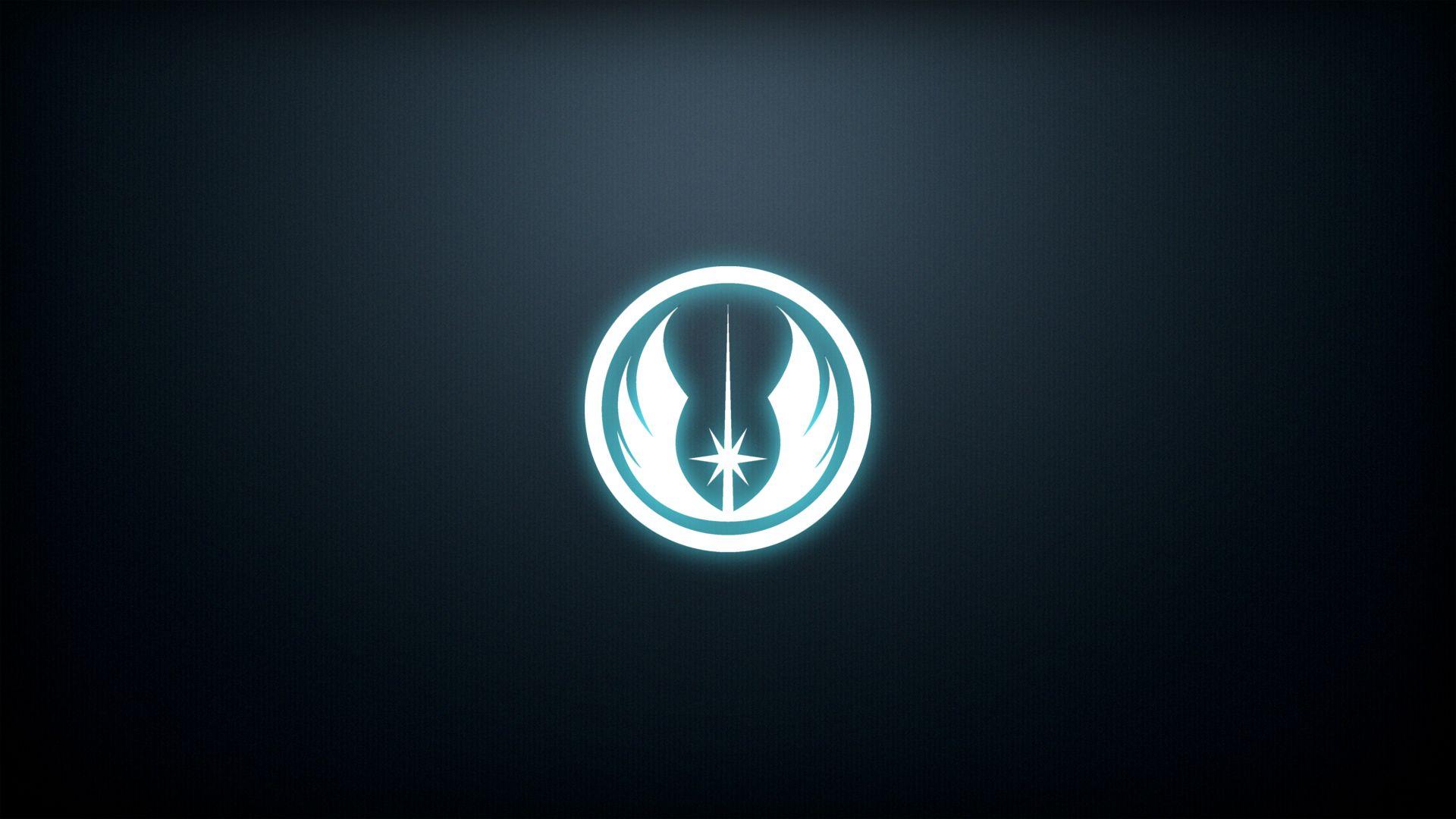Jedi Order emblem that I made [1920x1080] Wallpaper Wallpapers 1920x1080
