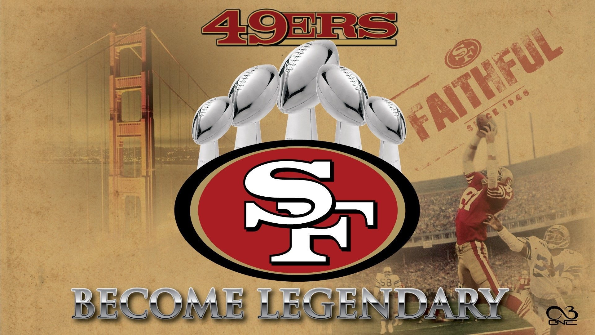 San Francisco 49ers Wallpaper For Mac Backgrounds 2020 NFL 1920x1080