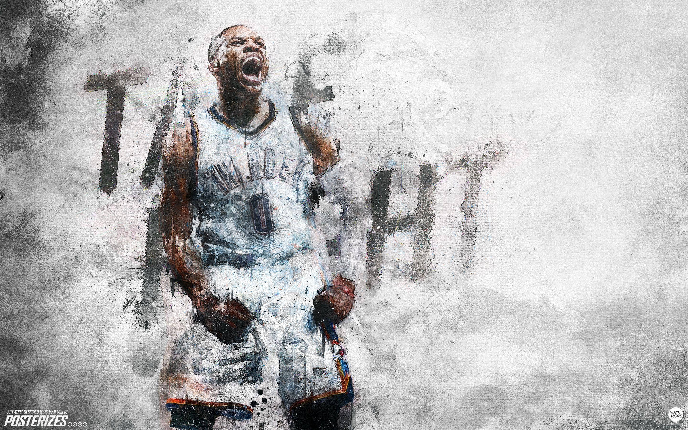 Kevin Durant And Russell Westbrook Wallpapers 2016 2880x1800