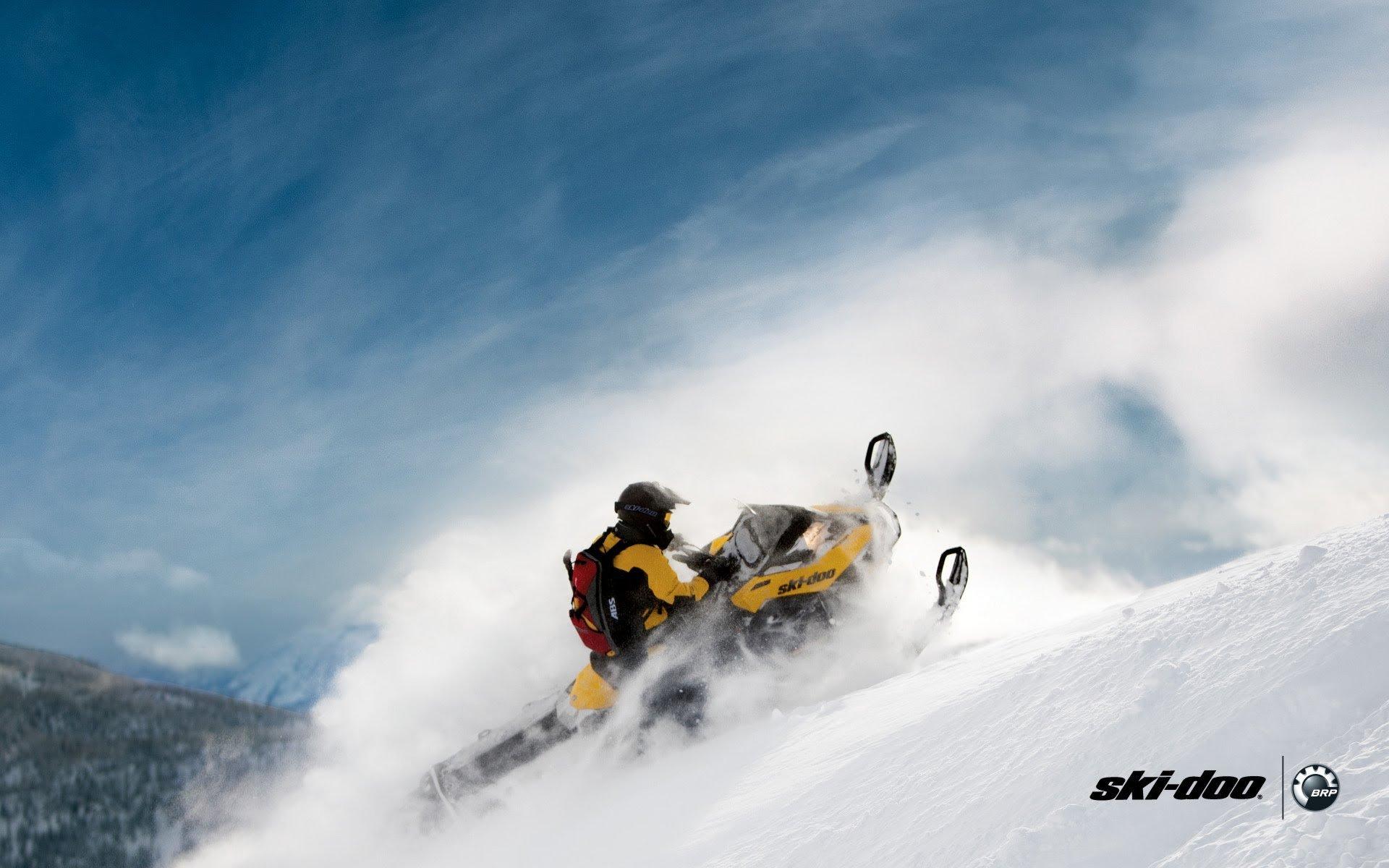SKI DOO snowmobile sled ski doo winter snow extreme 2349702 1920x1200