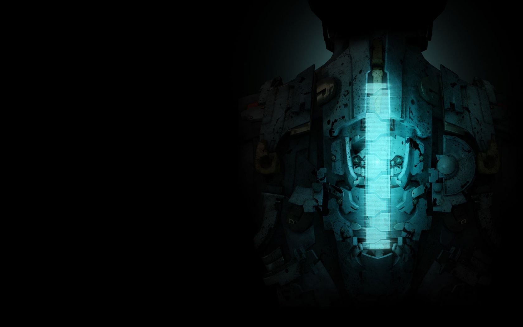 Game Wallpapers Dead Space Dark Wallpaper 1680x1050