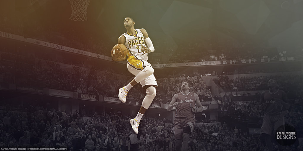 <b>Paul George Wallpaper</b> by Angelmaker666.deviantart.com on ...