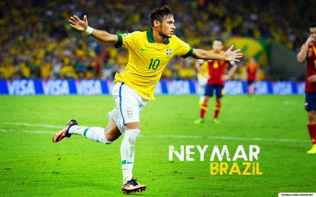 Download Neymar HD Wallpapers 2015 640x400