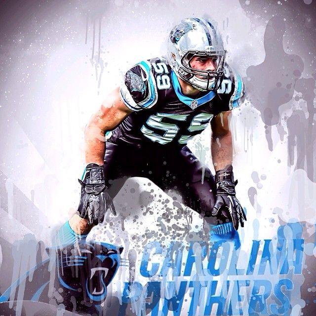 Luke Kuechly Carolina Panthers Football Pinterest 640x640
