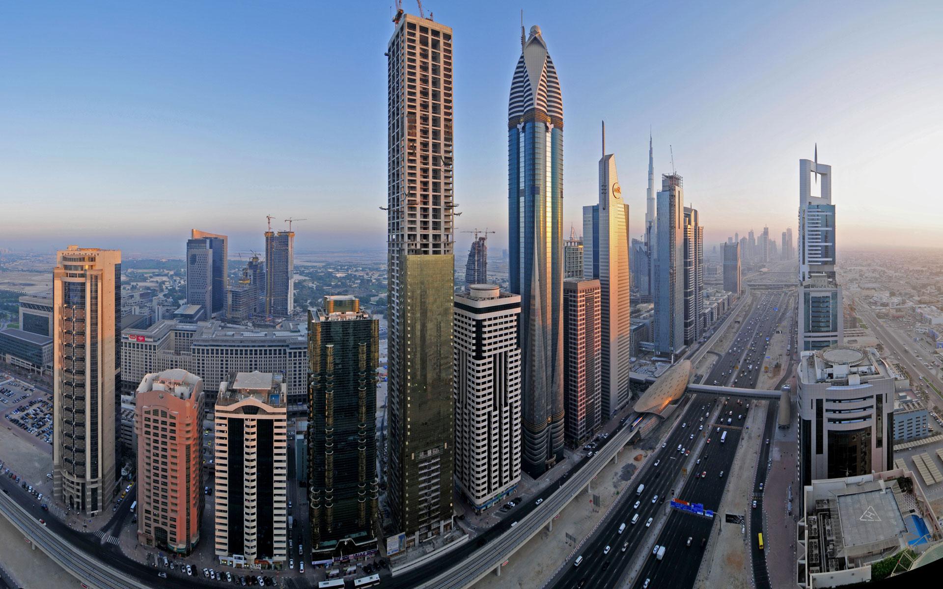 Downtown Dubai Widescreen Wallpapers HD Wallpapers 1920x1200