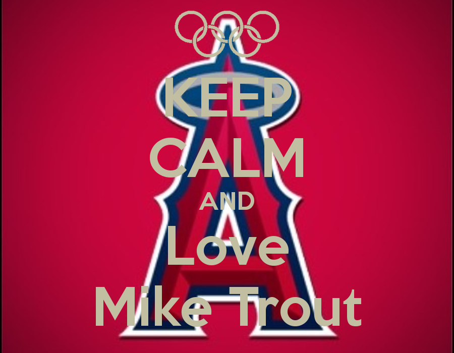 Mike trout iphone wallpaper