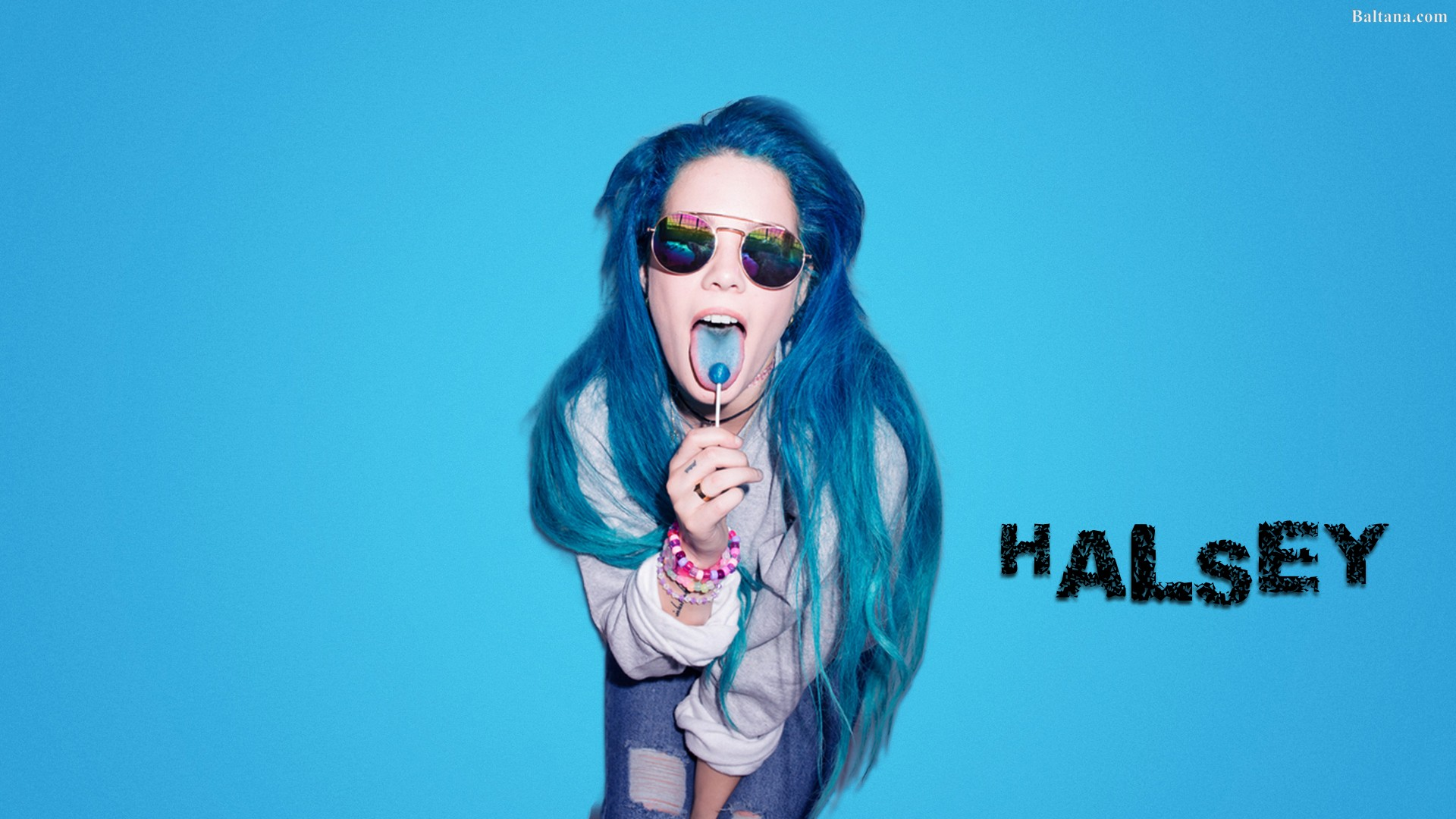 Halsey Wallpapers HD Backgrounds Images Pics Photos 1920x1080