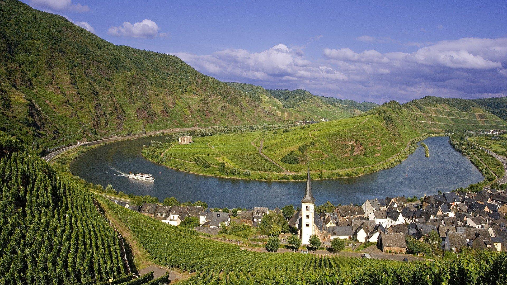 Rhine River Germany   Wallpaper 33393 1920x1080