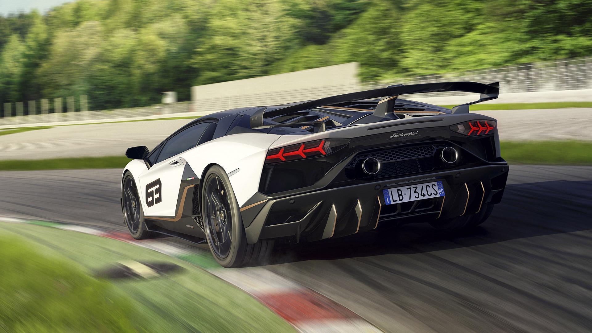 31 Lamborghini Aventador Svj Wallpapers On Wallpapersafari