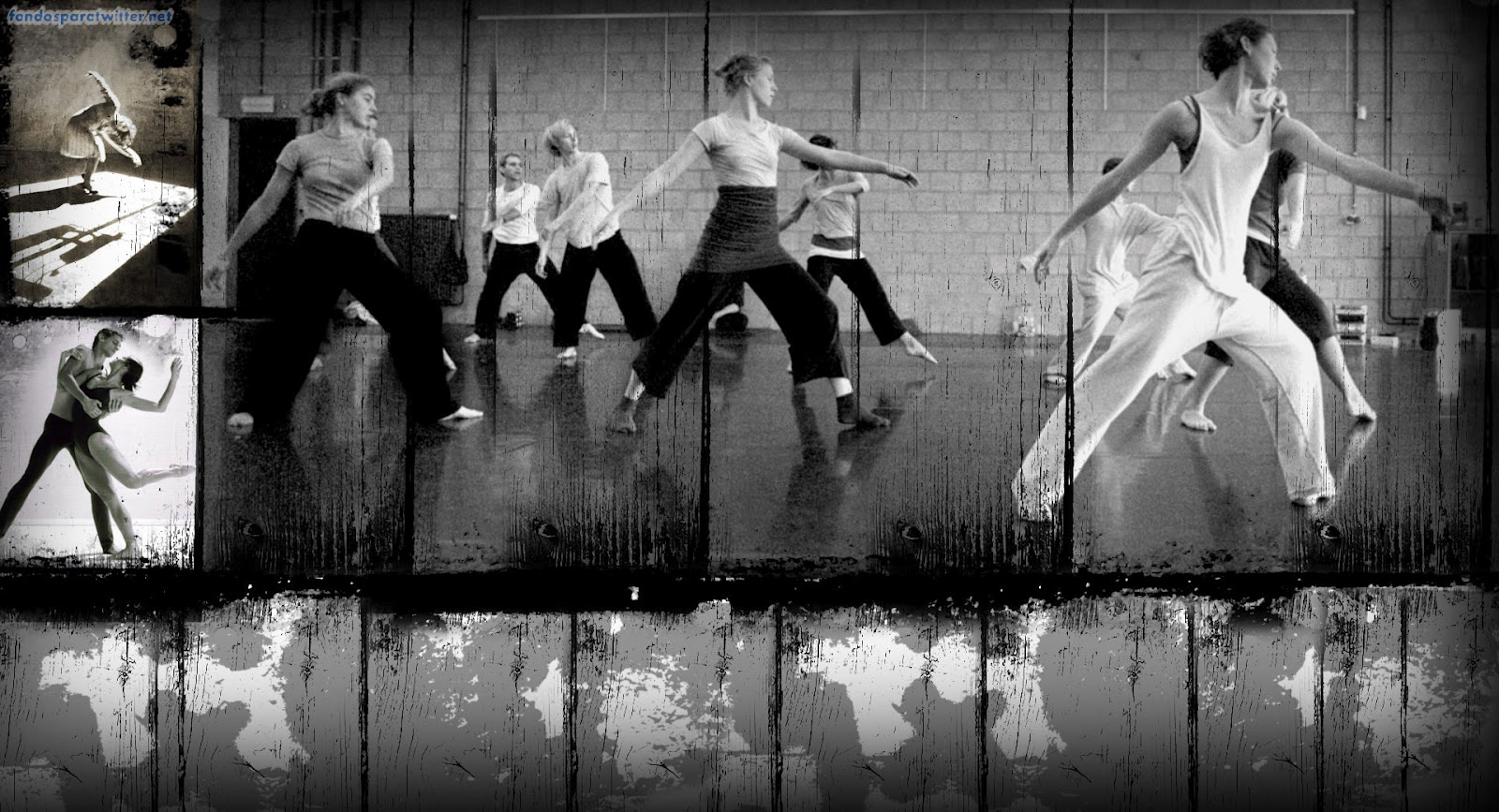 fondos para twitter Modern Dance Twitter Background 1600x867