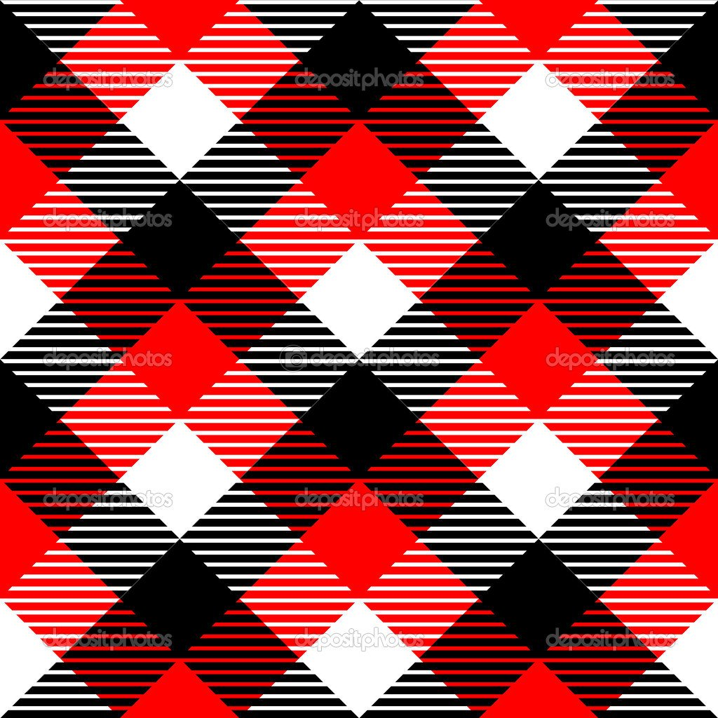 Red And White Patterned Wallpaper: Red And White Gingham Wallpaper