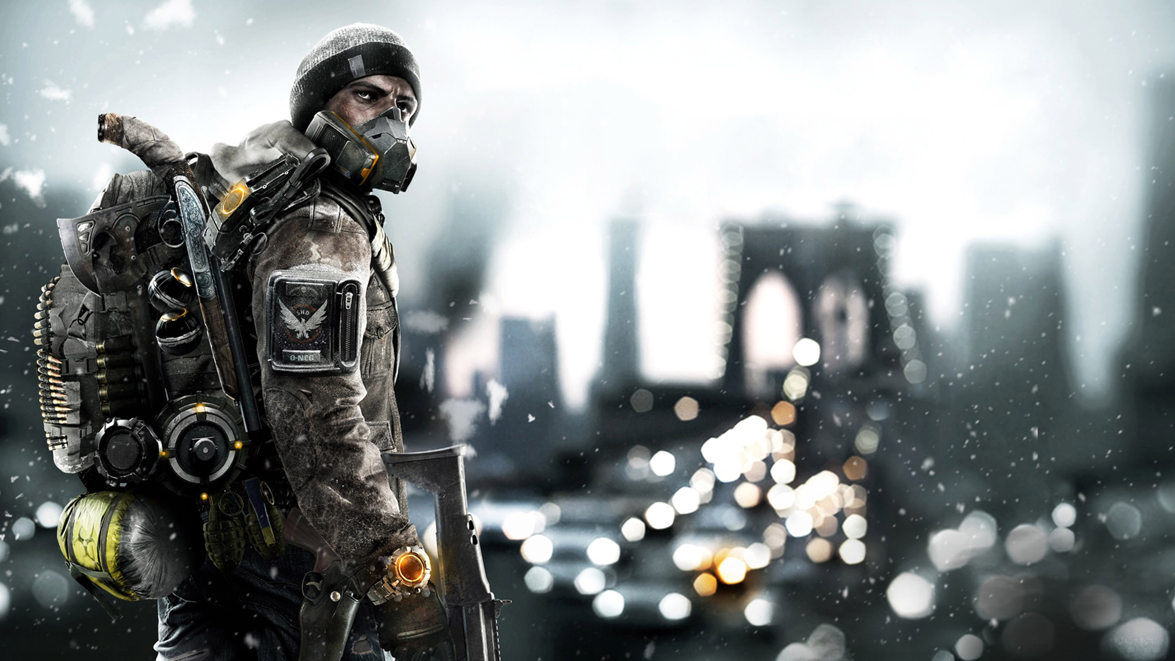 Tom Clancys The Division Season Pass Game Wallpaper WallpapersByte 3840x2160
