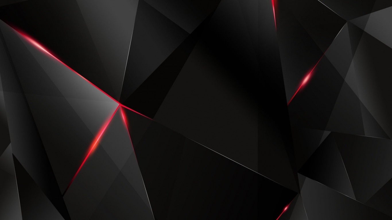 1366x768 Abstract Dark Geometry desktop PC and Mac wallpaper 1366x768