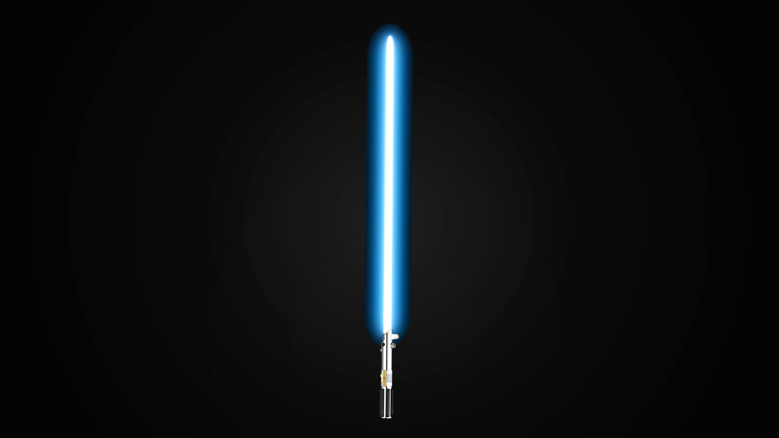 lightsaber star wars minimalistic hd wallpaper 2560x1440 9079 2560x1440