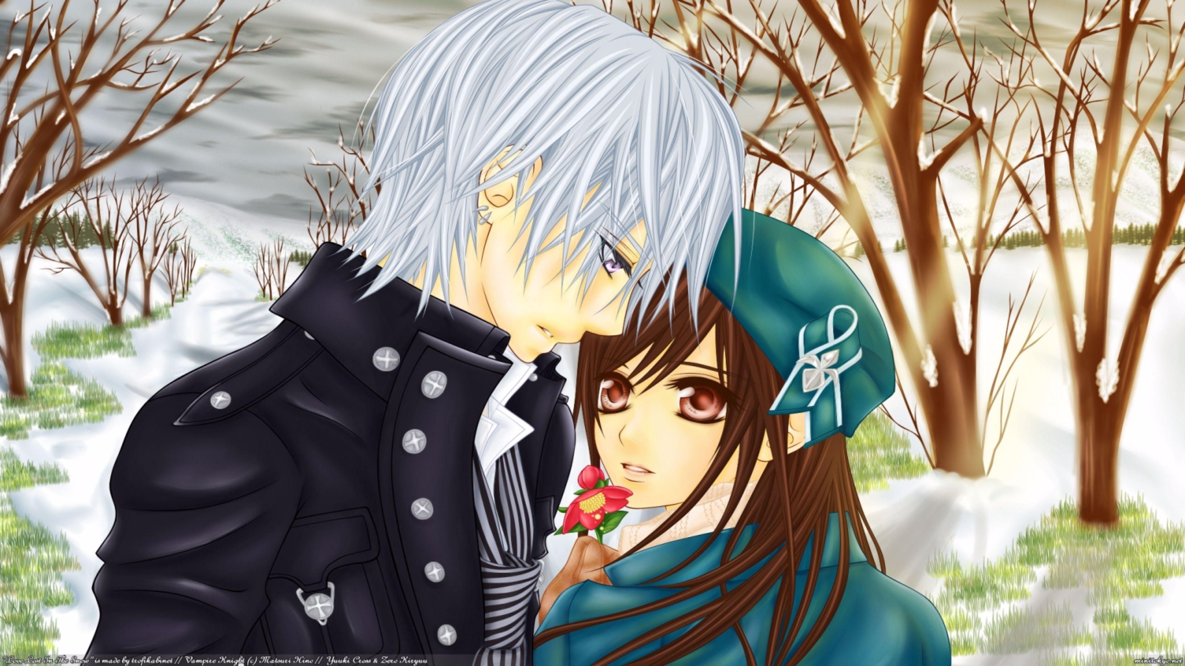 76] Romantic Anime Wallpapers on WallpaperSafari 3840x2160