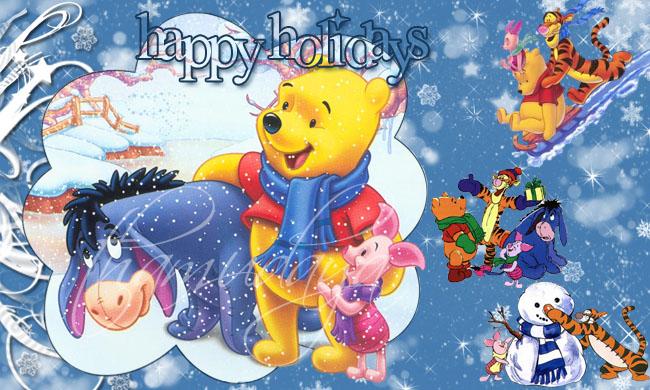 winnie the pooh's christmas by damnitztham on DeviantArt