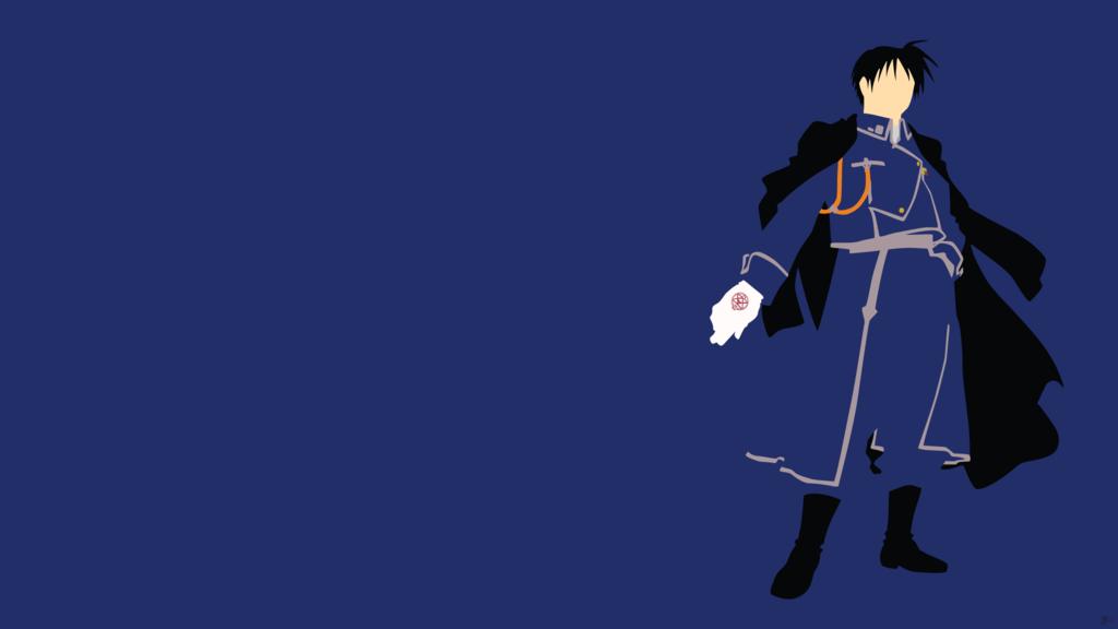 Roy Mustang Fullmetal Alchemist Minimalism by greenmapple17 on 1024x576