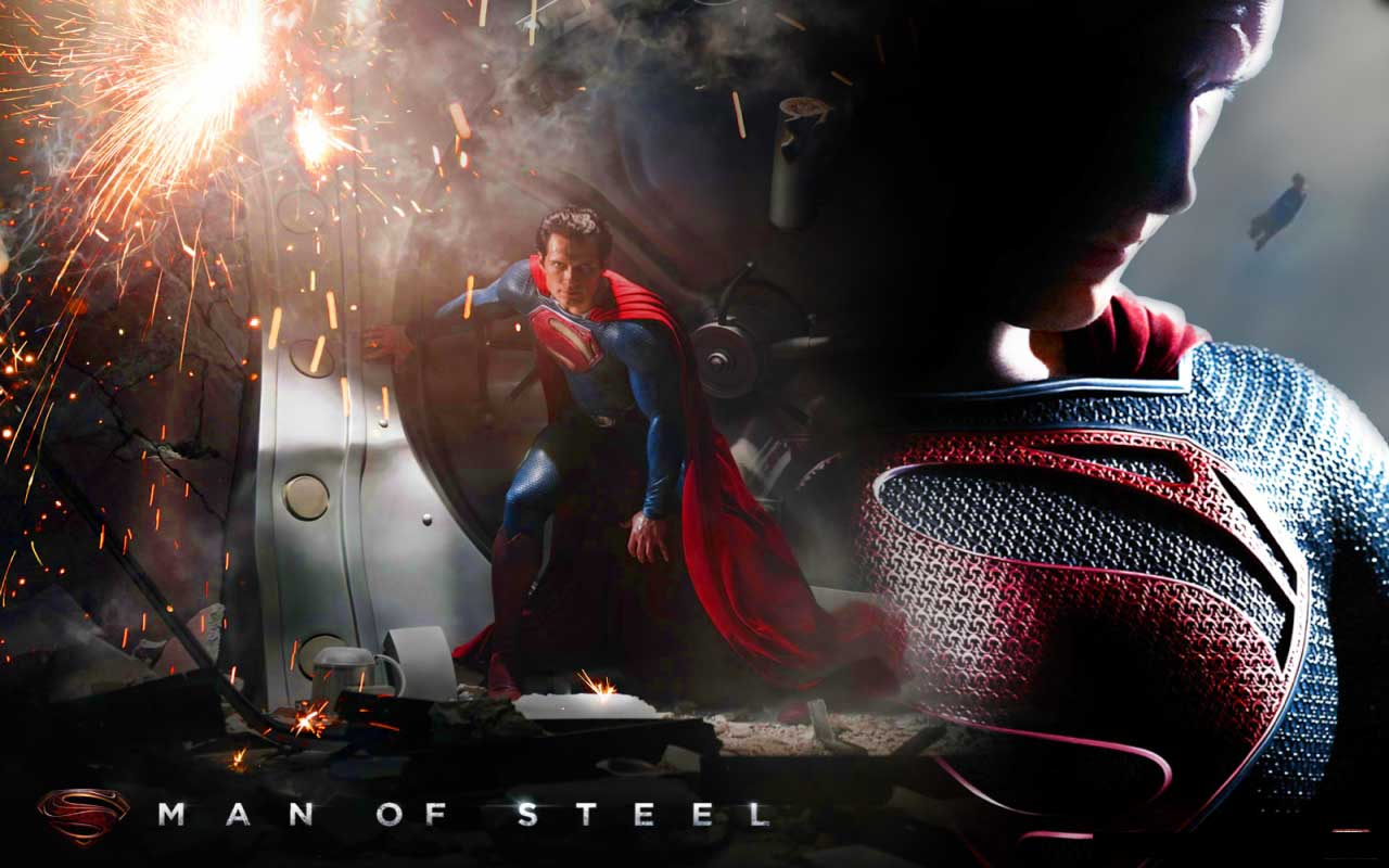 wallpapers and desktop backgrounds man of steel desktop wallpapers man 1280x800