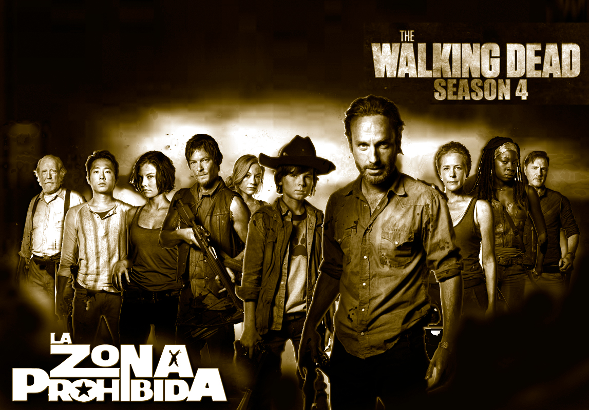 Download LA ZONA PROHIBIDA THE WALKING DEAD 4 Temporada Wallpaper ...