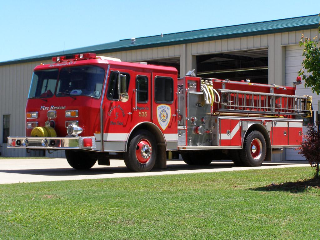 Fire Truck Wallpaper 1024x768