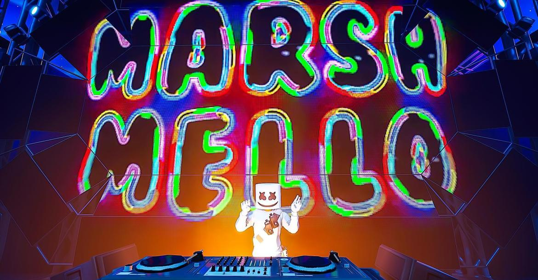 Fortnite HD Marshmello Concert Wallpapers L2pbomb 1170x610