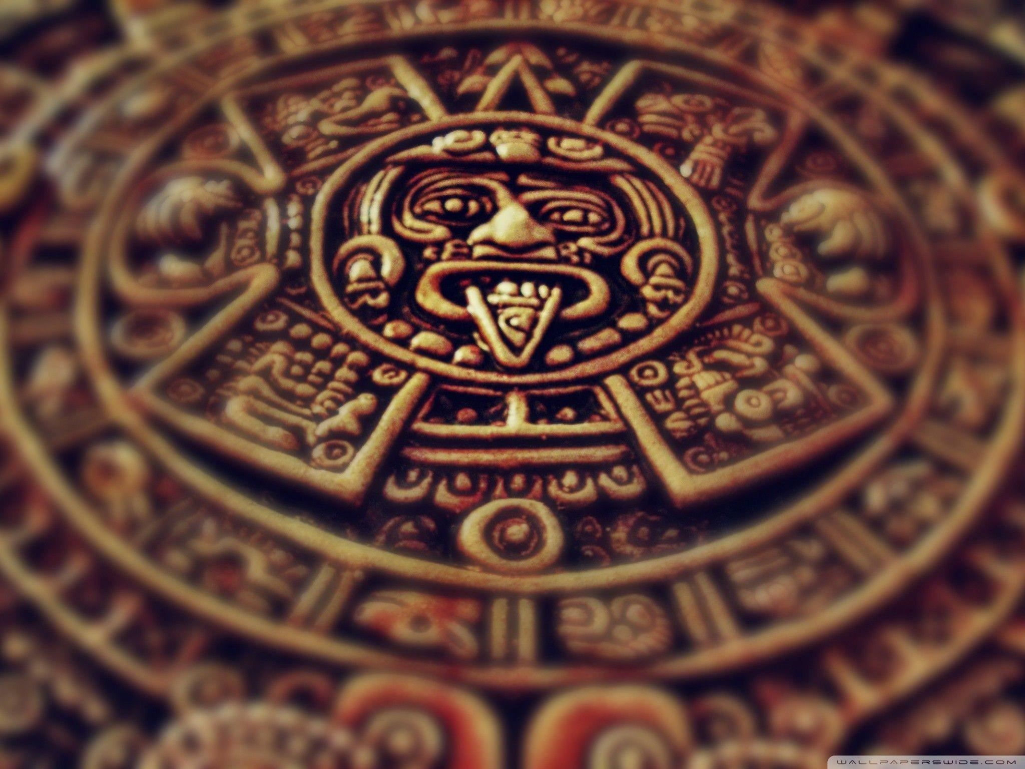 Aztec Calendar Wallpapers 2048x1536