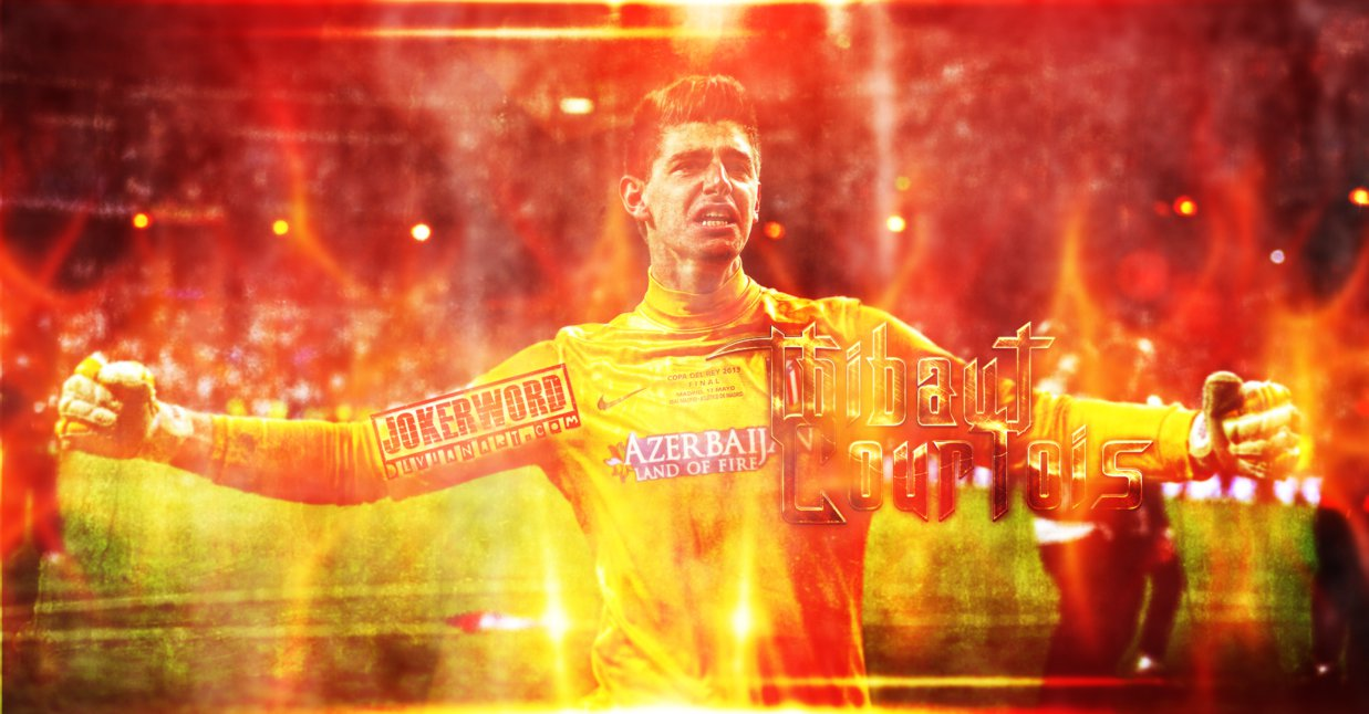 Thibaut Courtois Wallpaper by JoKeRWord 1237x646
