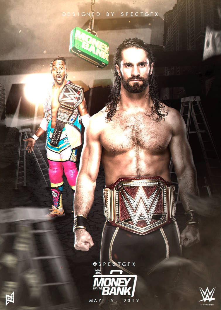 Money In The Bank 2019 Poster by TODESIGNS7 755x1058