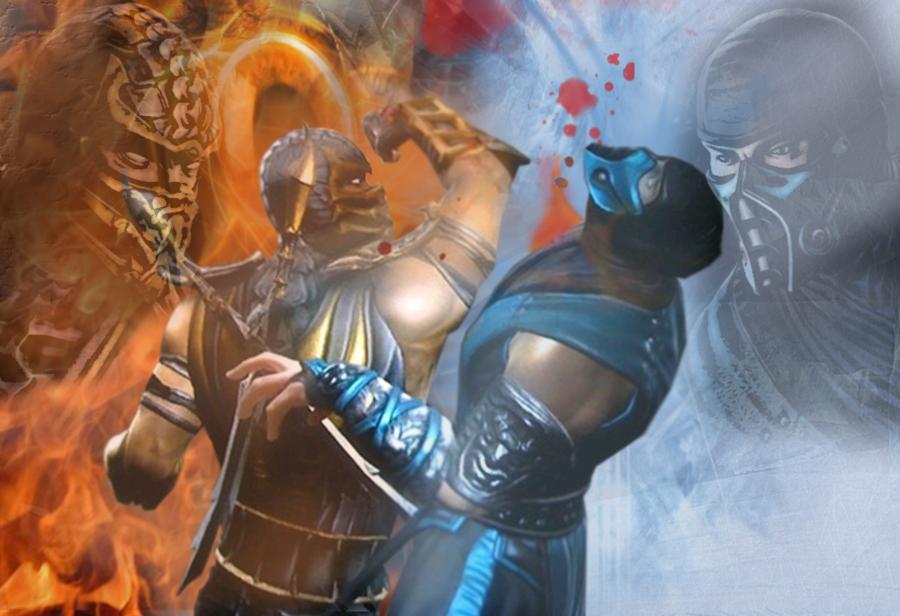 Mortal kombat legacy sub zero vs scorpion