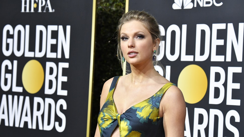 Taylor Swifts 2020 Golden Globes Dress Was A Not So Subtle Nod To 970x546