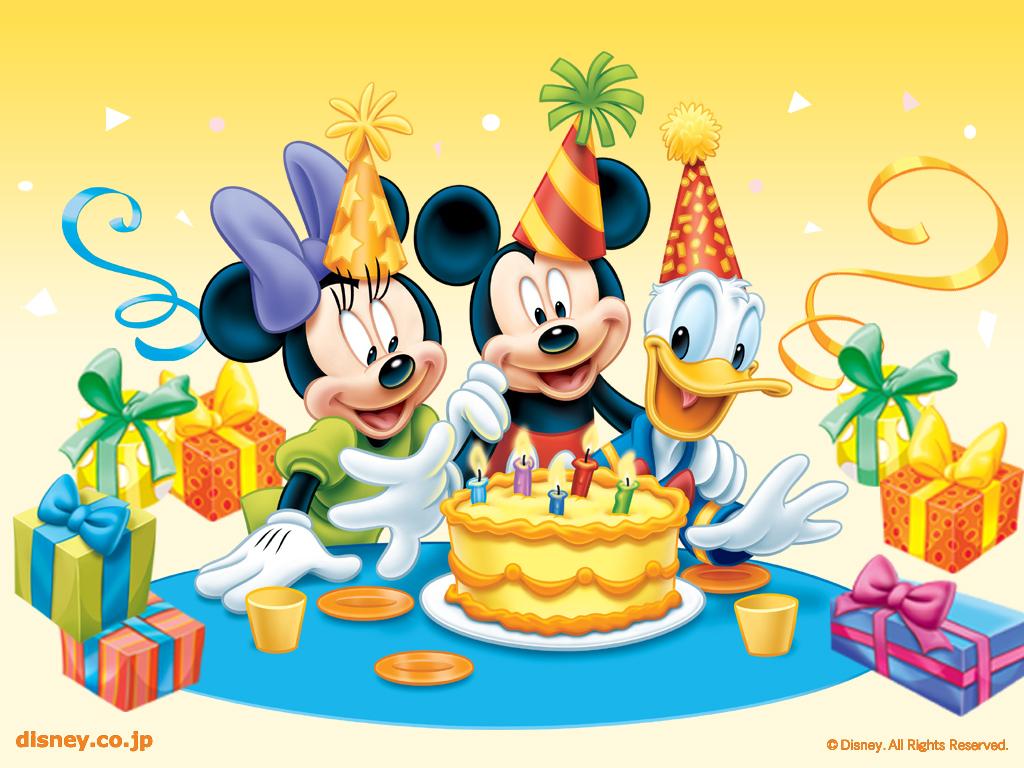 Disney Birthday Wallpaper   Disney Wallpaper 6229350 1024x768