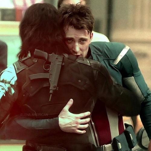 Bucky and Captain America   Captain America Photo 500x500