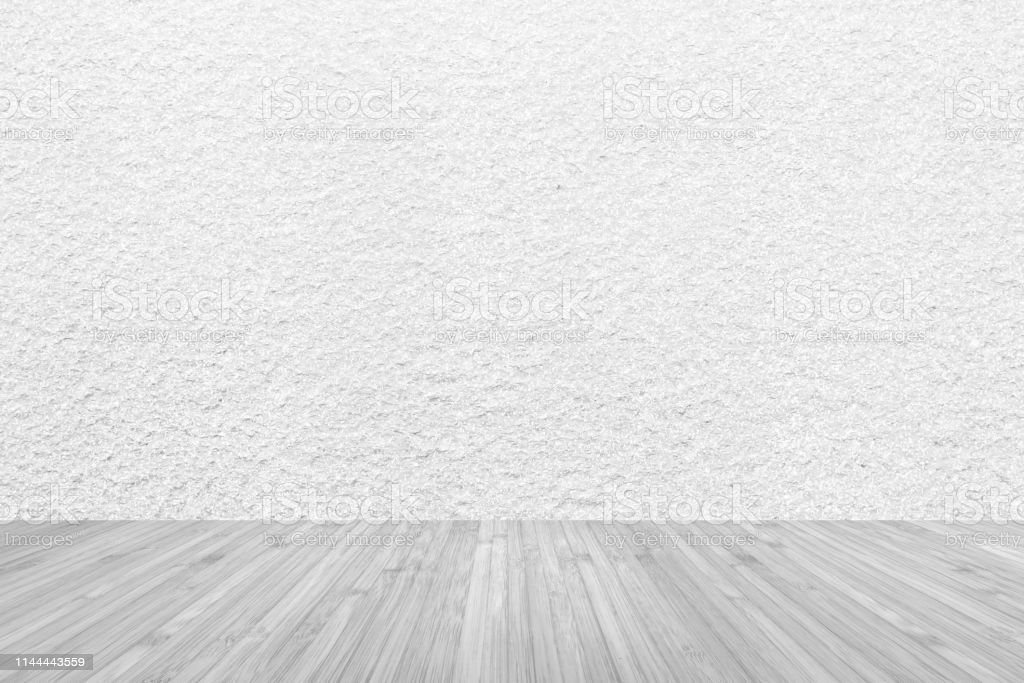 Grey Wooden Floor And Concrete Wall Background Stock Photo 1024x683