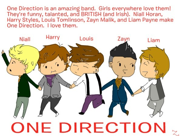 One Direction 600x450