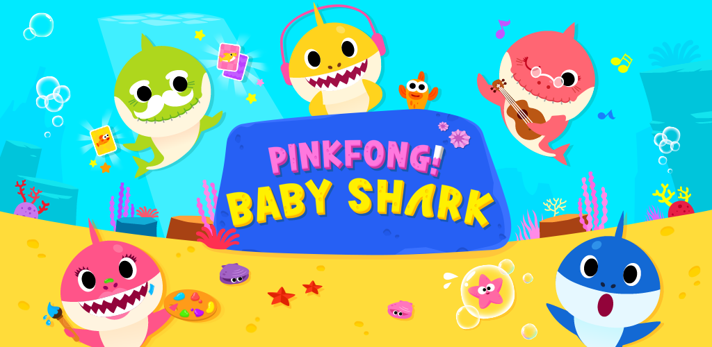 [95+] Baby Shark Pinkfong Wallpapers on WallpaperSafari