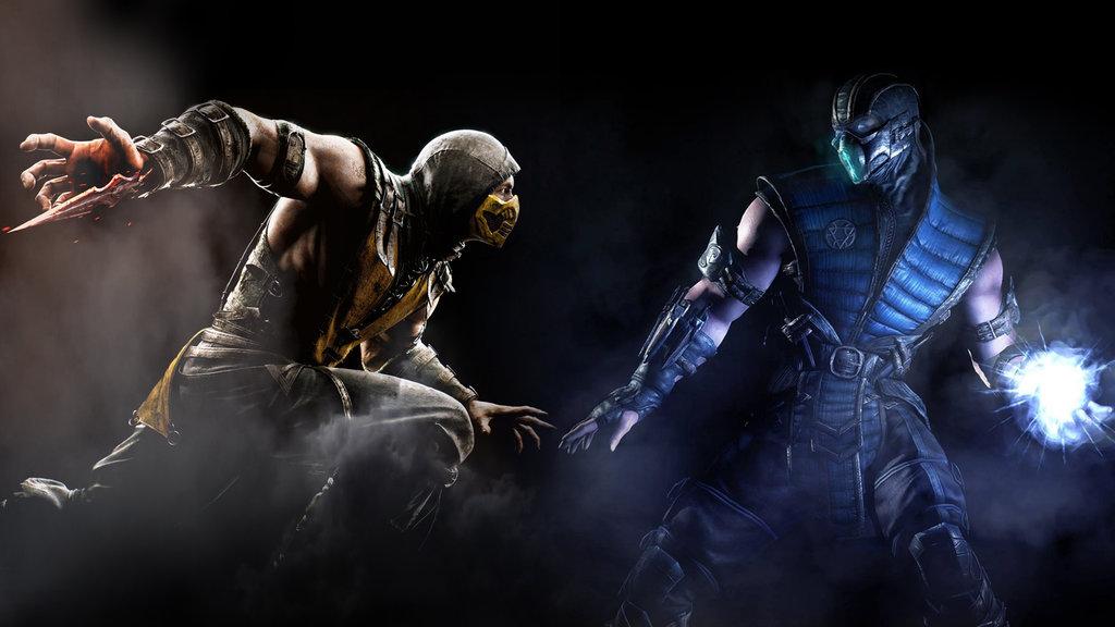 MKX Scorpion VS Sub Zero by GingerJMEZ 1024x576