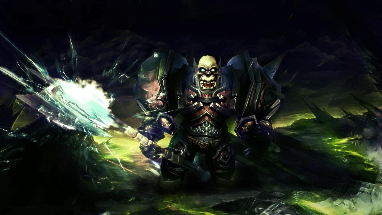 Orc DK Wallpaper by Uberkayt 1360x768