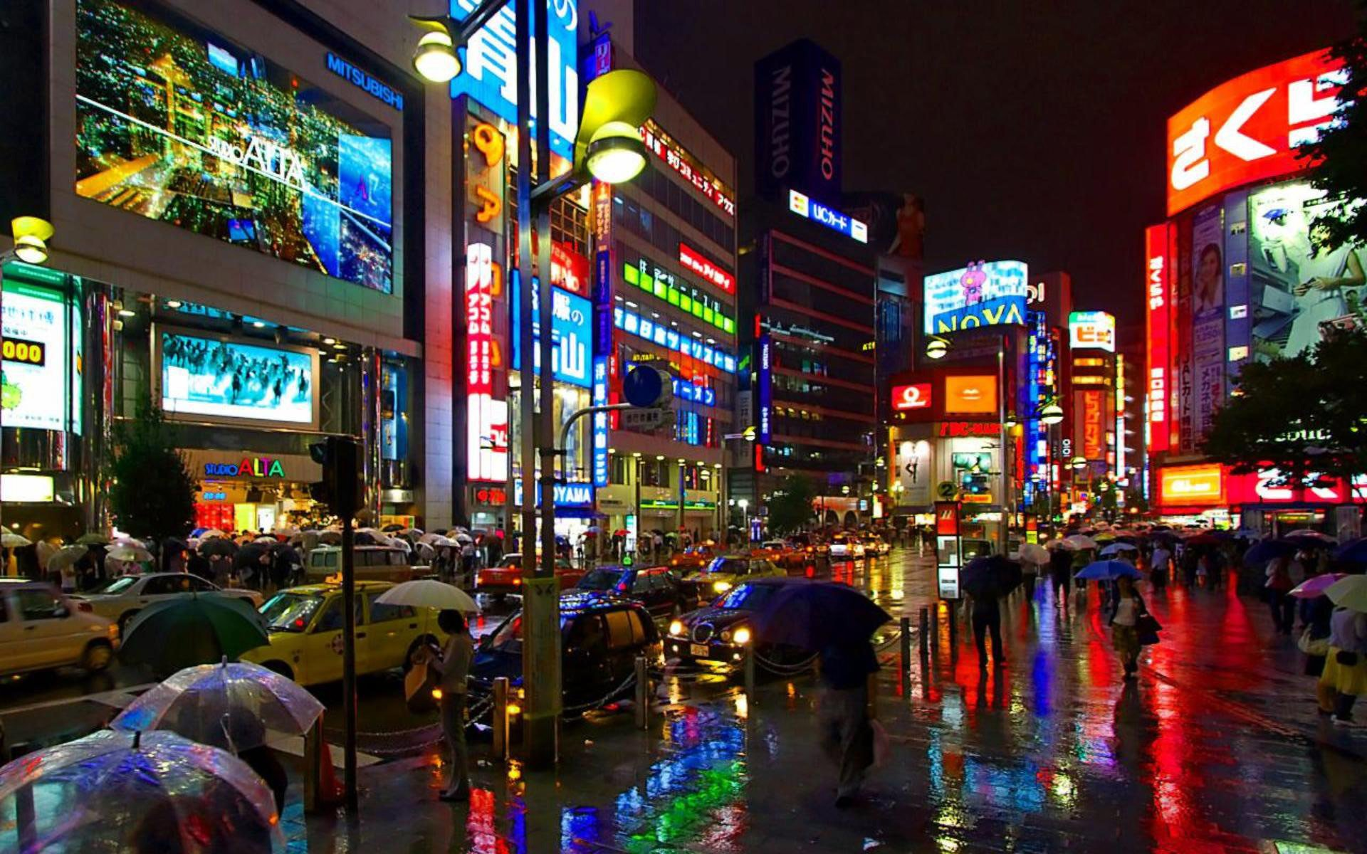 Tokyo at night wallpaper   723910 1920x1200