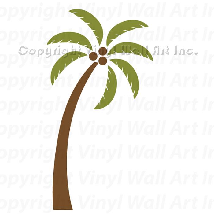palm tree vinyl wall decals 8 piece kit item id palm tree 0 review s 0 700x700