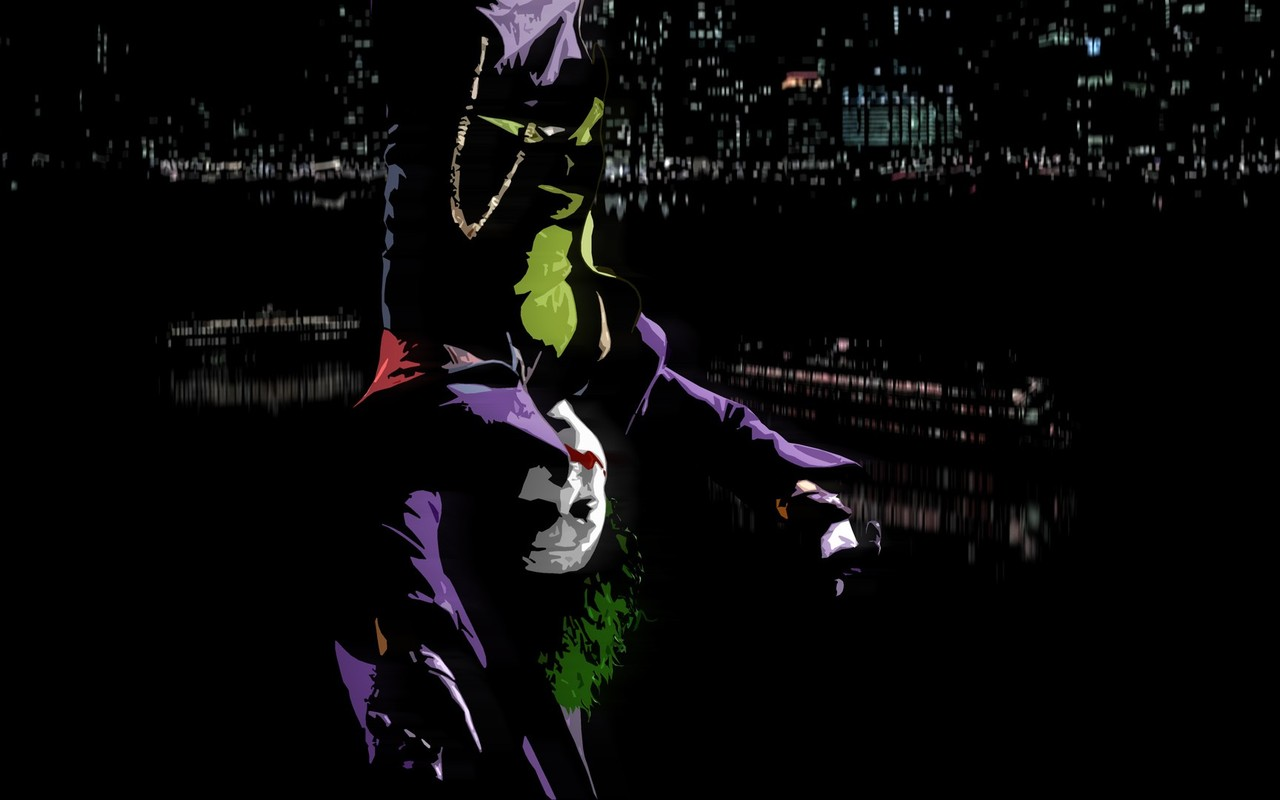 The Joker   The Dark Knight wallpaper 5162 1280x800