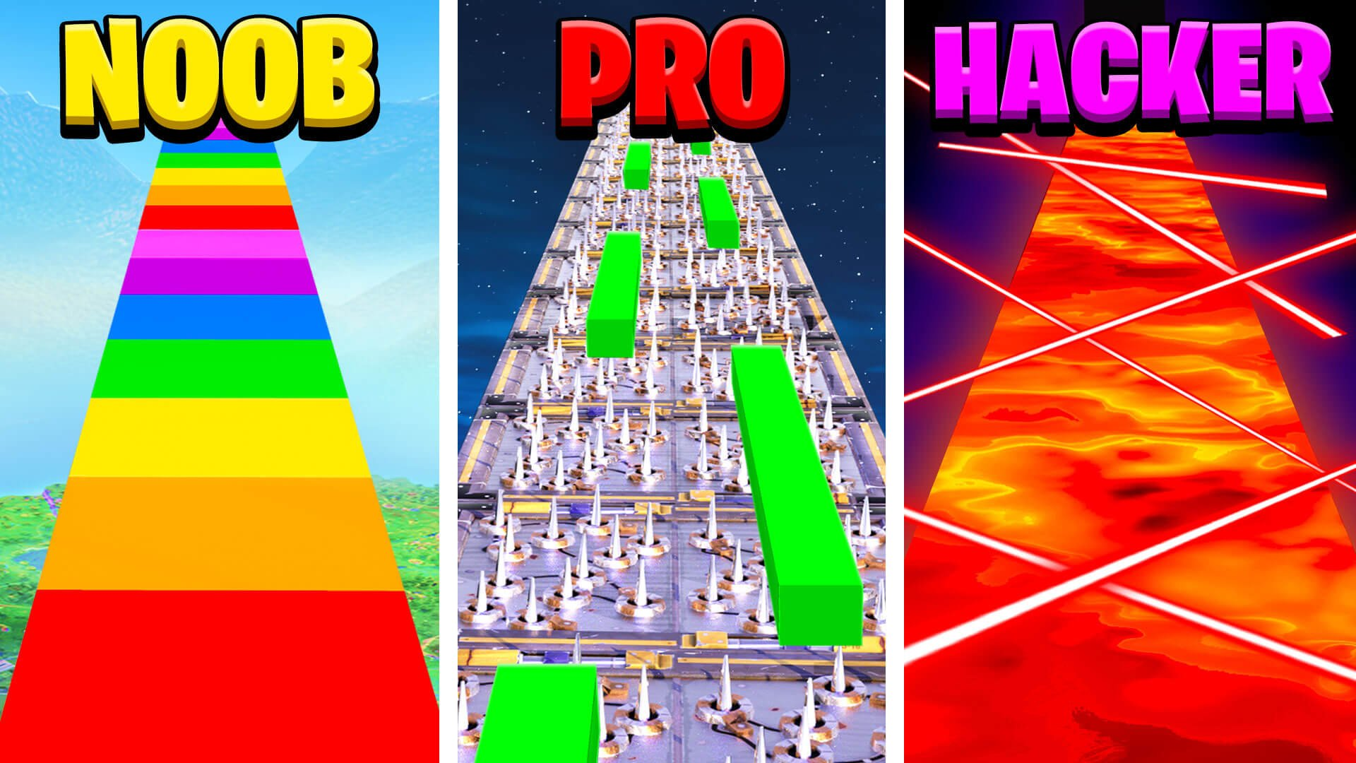 More Maps By Tbnrfrags   Noob Vs Pro Hd Wallpapers backgrounds 1920x1080